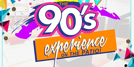 Sangria Saturdays: 90's On the Patio! @6pm tickets