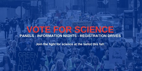 STEM the Vote: Science Policy Panel Series tickets