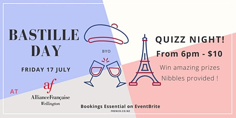 Bastille Day 2020 - Quizz Night! tickets