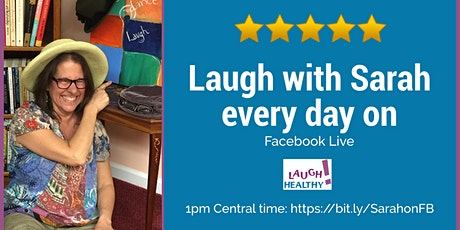 Laughter Yoga with Sarah Every Day tickets