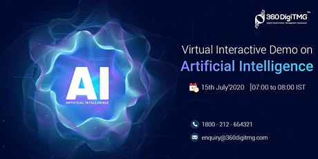 Artificial Intelligence | Virtual Interactive Demo tickets