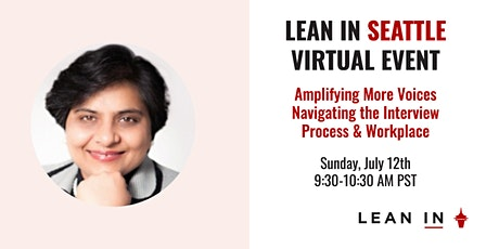 Lean In Seattle Event: Amplifying More Voices tickets