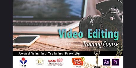 Video Editing Training Course – Award Winning Training Provider Malaysia tickets