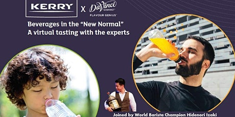 Beverages in the New Normal.. a virtual tasting with the experts tickets
