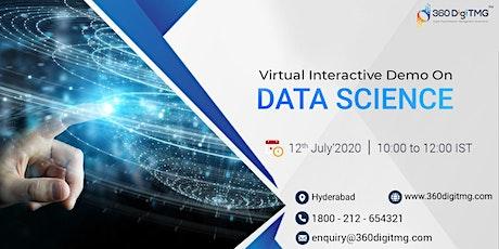 Data Science Demo   Virtual Interactive Demo entradas