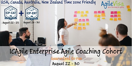 ICAgile Enterprise Agile Coaching Bootcamp (ICP-CAT + ICP-ENT) 9 days tickets