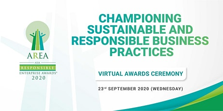 (Virtual) Asia Responsible Enterprise Awards (AREA) tickets