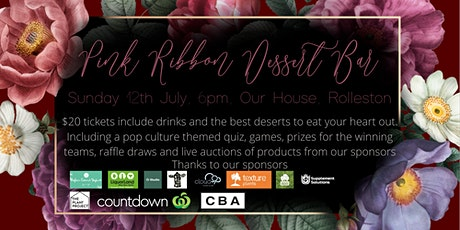 Pink Ribbon Dessert Bar tickets