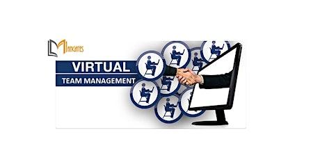 Managing a Virtual Team 1 Day Training in Boston, MA tickets