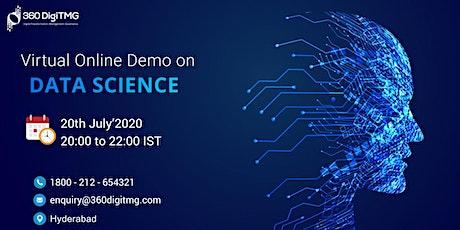 Data Science Demo   Virtual Online Demo entradas
