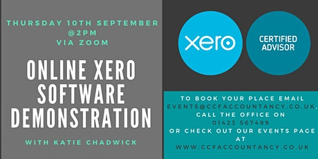 Xero Software Demonstration with Katie Chadwick tickets