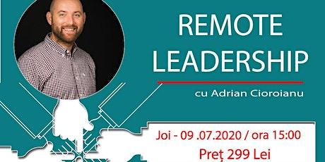 Remote Leadership tickets