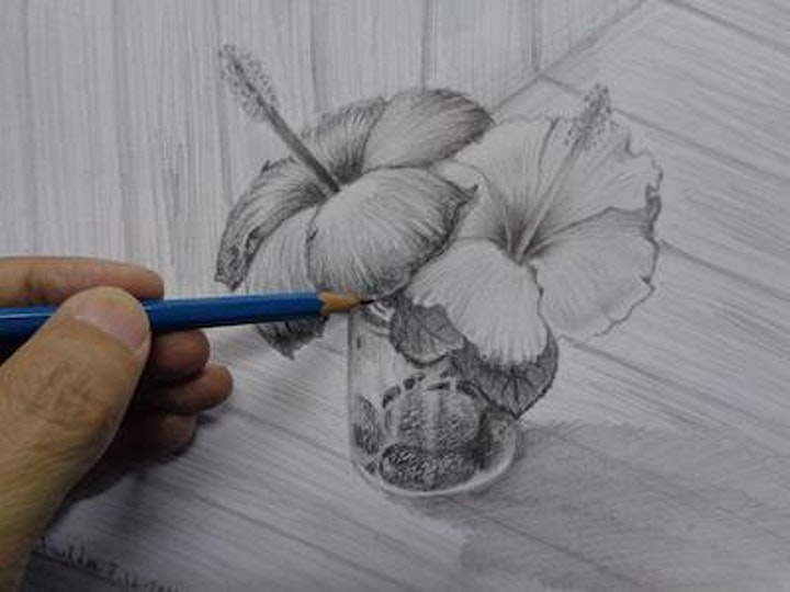 Pencil-Sketching Course - Beginner starts Dec 6 (8 sessions) image
