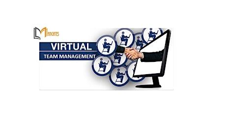 Managing a Virtual Team 1 Day Virtual Live Training in San Jose, CA tickets