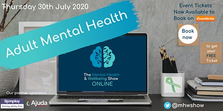 Mental Health Online: Adult (July) tickets