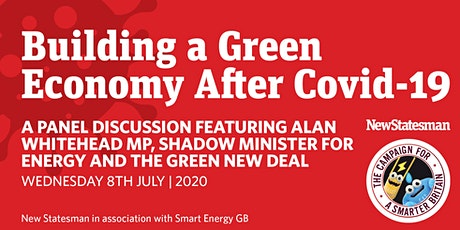NS and Smart Energy GB Webinar: Building a Green Economy After Covid-19 tickets