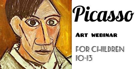Picasso For Kids 10-13 - Online Art Webinar Tickets
