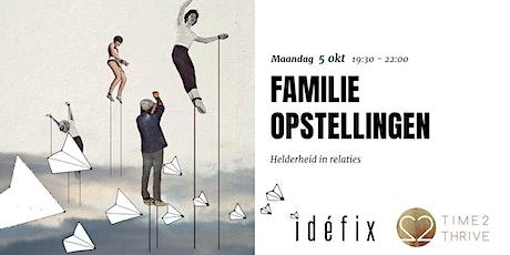 Familieopstellingen tickets