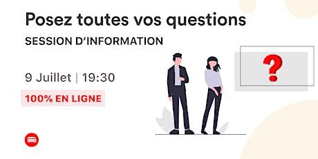 Session d'information : posez toutes vos questions sur Le Wagon billets