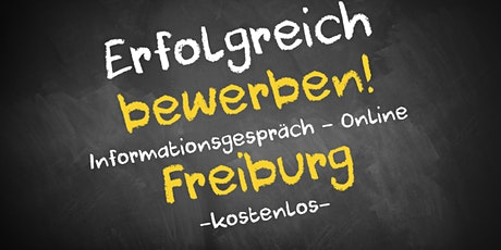 Bewerbungscoaching Online kostenfrei - Infos - AVGS Freiburg Tickets