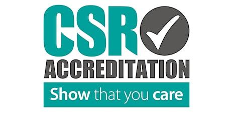 CSR Training Module 5 - Creating a CSR Policy tickets