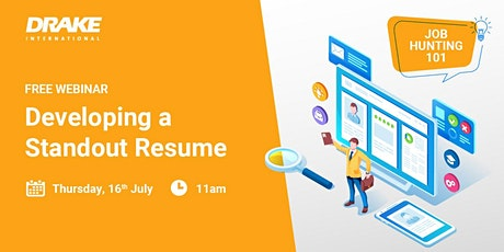 Job Hunting 101: Developing a Standout Resume tickets