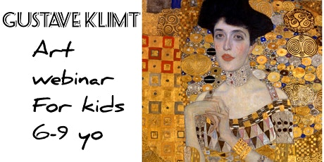 Gustav Klimt for Kids 6-9 - Online Art Webinar tickets