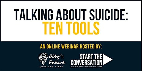 Talking About Suicide: Ten Tools tickets