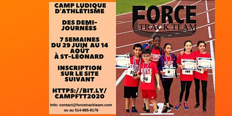 Camp d'athlétisme pour enfant / Track & Field Camp for kids billets