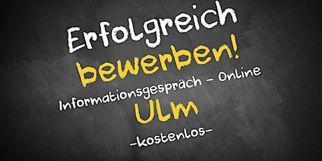 Bewerbungscoaching Online kostenfrei - Infos - AVGS Ulm Tickets