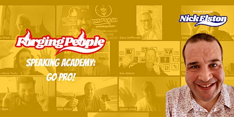 Forging People Speaking Academy GO PRO! tickets