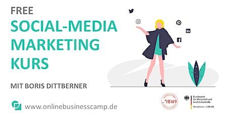 Free Social-Media-MarketingKurs Tickets