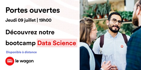 Session d'information le Wagon Bordeaux le 9 juillet - Data Science billets