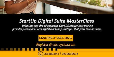 StartUp Digital Suite MasterClass - WEBINAR biglietti