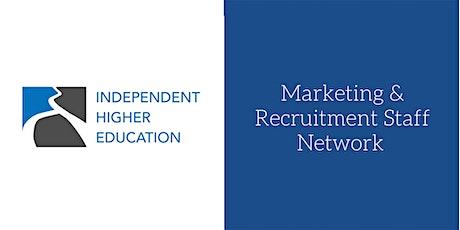 Marketing & Recruitment Staff Network tickets