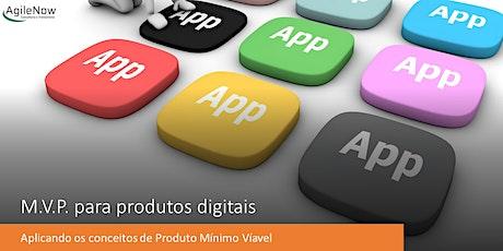 MVP para produtos digitais ingressos