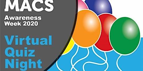 MACS Virtual Quiz in aid of MACS Awareness Week tickets