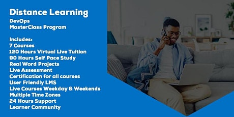 Live Instructor Led Distance Learning DevOps MasterClass Program tickets