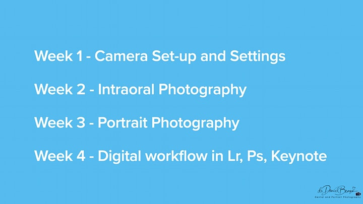 Dental and Portrait Photography Online Course image