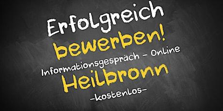Bewerbungscoaching Online kostenfrei - Infos - AVGS Heilbronn Tickets