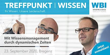 Treffpunkt | WISSEN 2020 tickets