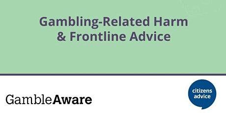 Gambling Related Harm tickets