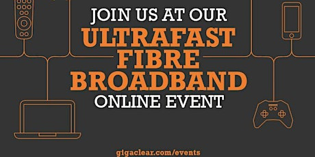 Online via Teams, Gigaclear Presentation/ Q and A Event - Crudwell tickets