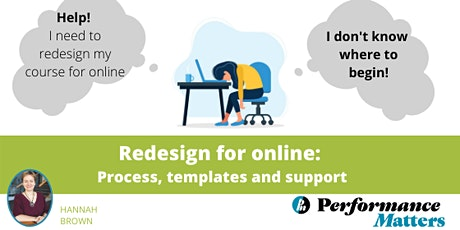Redesigning in-person for online: Process, templates, and support SEPT 2020 tickets