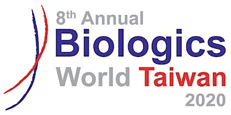 Biologics World Taiwan VIP tickets