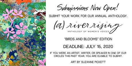 SUBMIT to (a) river rising: Anthology of Women's Voices [Birds and Blooms] tickets