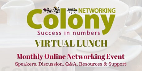 Colony Networking Virtual Lunch - Psychometrics tickets