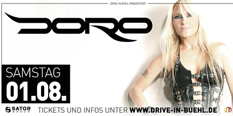 DORO • Drive-in Bühl Tickets