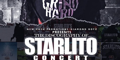 THE DISCOGRAPHY OF STARLITO CONCERT(Earlybird General Admission tickets) tickets