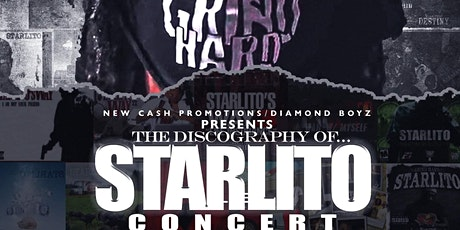 THE DISCOGRAPHY OF STARLITO CONCERT(Early Bird VIP Tickets) tickets